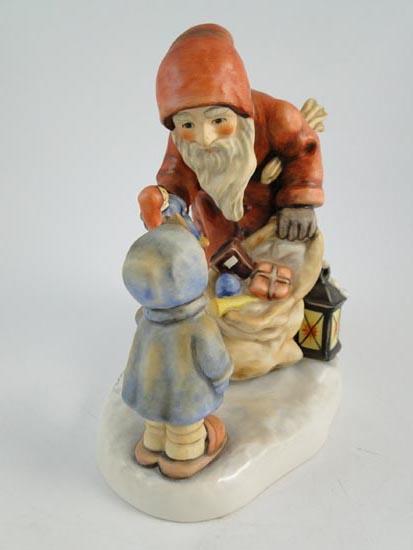 Hummel goebel german figurine statue st nicholas day